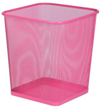 Honey-Can-Do Mesh Metal Trash Can