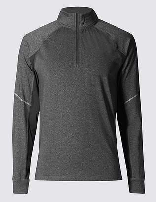 Marks and Spencer Active Funnel Neck Top