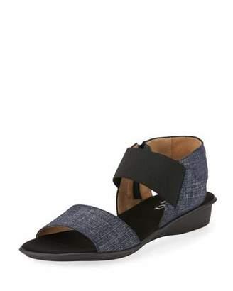Sesto Meucci Elki Comfort Denim Sandal, Blue