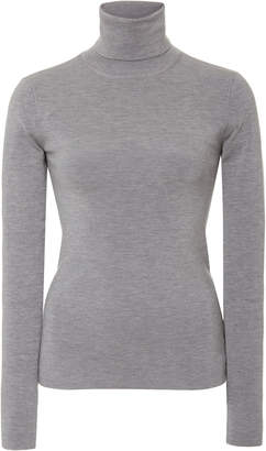 Joseph Stretch Silk-Blend Turtleneck Sweater
