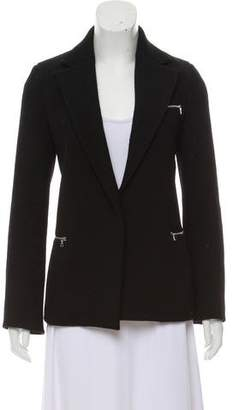 Acne Studios Textured Notch-Lapel Blazer