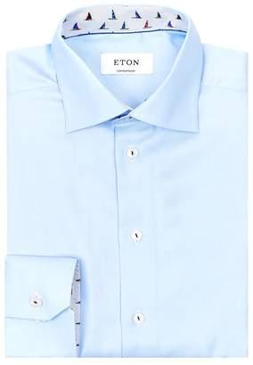 Eton Twill Boat Detail Shirt