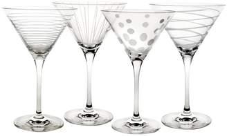Mikasa Set of 4 Martini Glasses