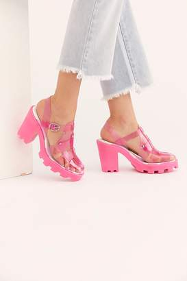 Fp Collection Blue Skies Platform Sandal