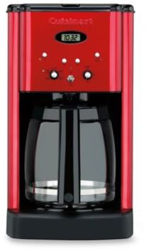 Cuisinart Brew CentralTM12-Cup Programmable Coffee Maker in Metallic Red