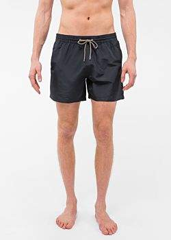 Paul Smith Men's Black Swim Shorts