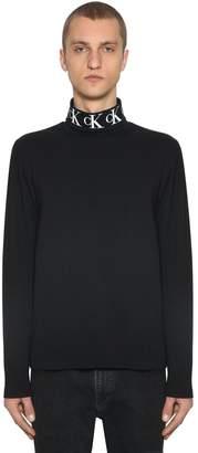 Calvin Klein Jeans Monogram L/s Cotton Blend T-shirt