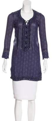 Isabel Marant Semi-Sheer Long Sleeve Tunic