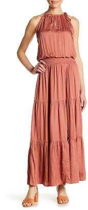 Love Stitch Boho Tiered Maxi Dress