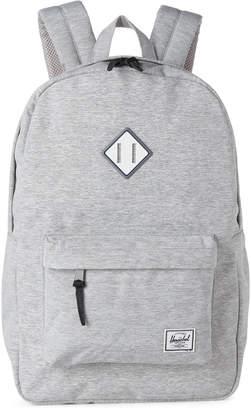 Herschel Light Grey & White Heritage Backpack