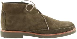 Loro Piana Green Suede Ankle boots