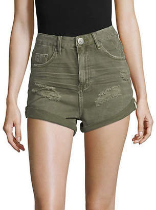 One Teaspoon High Waist Bandits Shorts