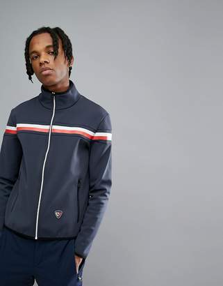 Tommy Hilfiger X Rossignol Russel Soft Shell Jacket In Navy