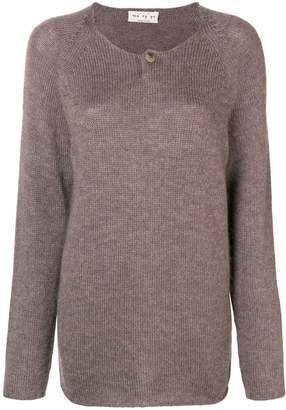 Ma Ry Ya Ma'ry'ya longline fine knit sweater