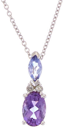 Effy Fine Jewelry 14K 0.98 Ct. Tw. Diamond & Gemstone Necklace