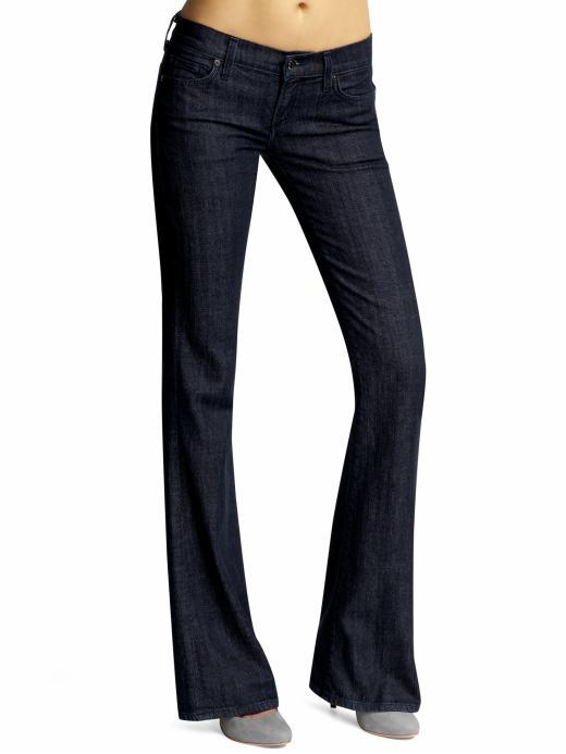 Citizens of Humanity Alpine Ingrid Flared Jeans with Crystals