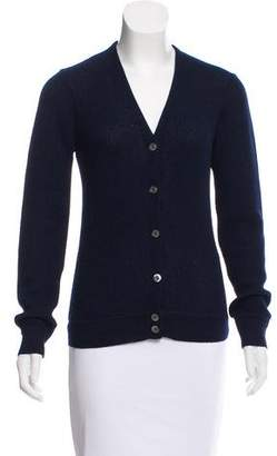 Michael Kors Wool V-Neck Cardigan