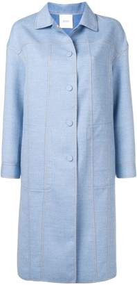 Agnona (アニオナ) - Agnona single-breasted fitted coat