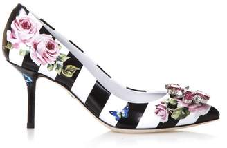 Dolce & Gabbana Pumps In Patent Leather 75mm