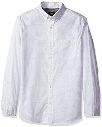 Lee Men's Long Sleeve Stretch Woven Shirts