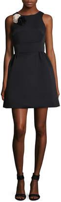 Kate Spade Embellished A-Line Dress