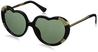 A.J. Morgan Women's Heartstomper Round Sunglasses $24 thestylecure.com