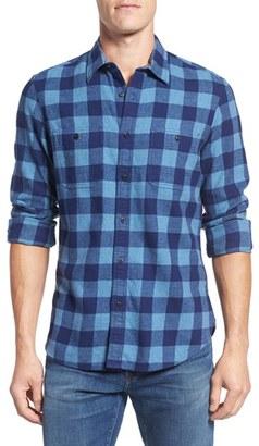 Men's Nordstrom Men's Shop Workwear Slim Fit Flannel Shirt $69.50 thestylecure.com