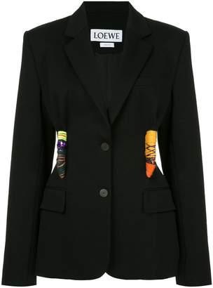 Loewe appliqué detail blazer