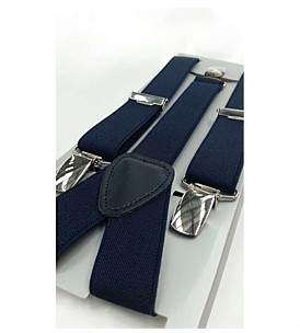 Laramy Boys Navy Braces