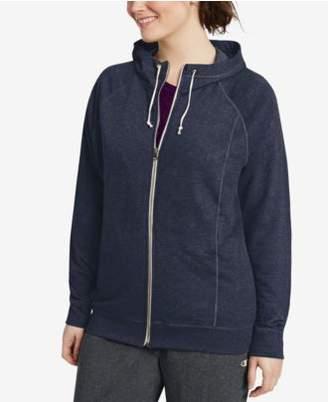 Champion Plus Size Raglan-Sleeve Hoodie Sweatshirt