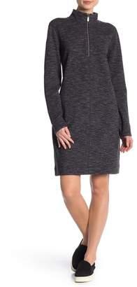 Tommy Bahama Marled Flip Side Half-Zip Dress