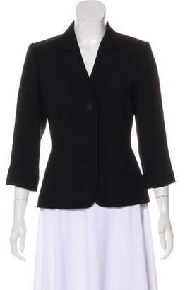Ellen Tracy Linda Allard Structured Long Sleeve Blazer