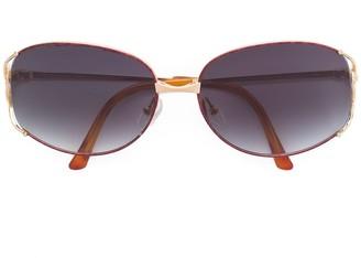 Christian Dior Pre-Owned metal frame sunglasses