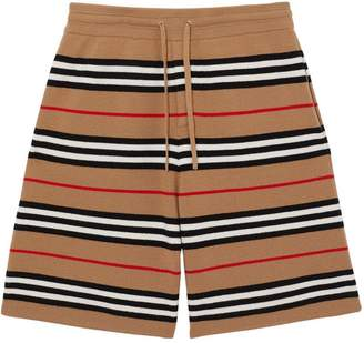 Burberry Monogram Motif Merino Wool Drawcord Shorts