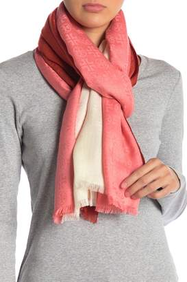 Tory Burch Traveler Color Block Oblong Scarf