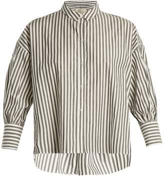 Nili Lotan Fulton striped cotton shirt