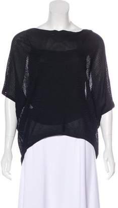 Ralph Lauren Black Label Short Sleeve Knit Top w/ Tags