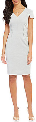 Antonio Melani Landon Sharkskin Dress $159 thestylecure.com