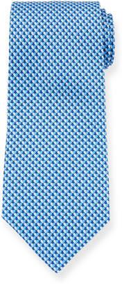 Salvatore Ferragamo Gift Two-Tone Hearts Silk Tie