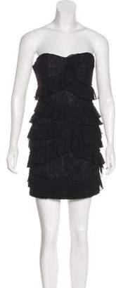 Cynthia Steffe Strapless Lace Dress