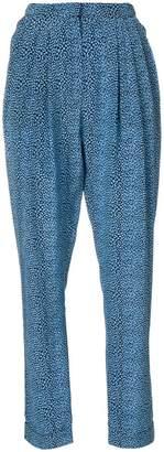 Philosophy di Lorenzo Serafini printed tapered trousers