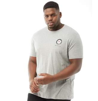Ben Sherman Plus Size Medium Target T-Shirt Grey Marl