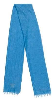 Burberry Cashmere & Linen Lightweight Scarf