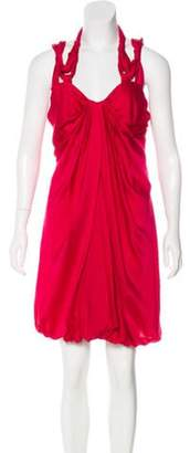Vionnet Silk Sleeveless Dress w/ Tags Silk Sleeveless Dress w/ Tags