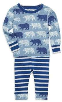 Hatley Baby Boy's Two-Piece Polar Bear Pajama Set