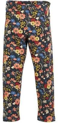 Mayoral Floral-Print Leggings, Size 3-7