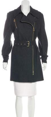 MICHAEL Michael Kors Wool-Blend Short Coat
