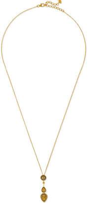 Amrapali 18-karat Gold Sapphire Necklace