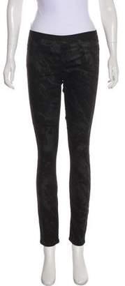 Helmut Lang Mid-Rise Skinny-Leg Jeans
