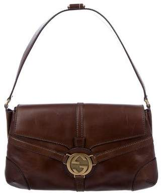 Gucci Leather Reins Flap Bag